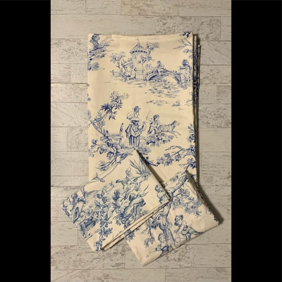 Country Curtains FrenchCountry Toile PastoralBlue